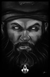 Blackbeard by IronWarrior777