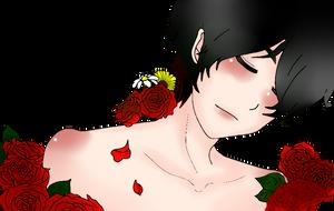 [ HF FANART ] Bed of the rose by KiiyoKun