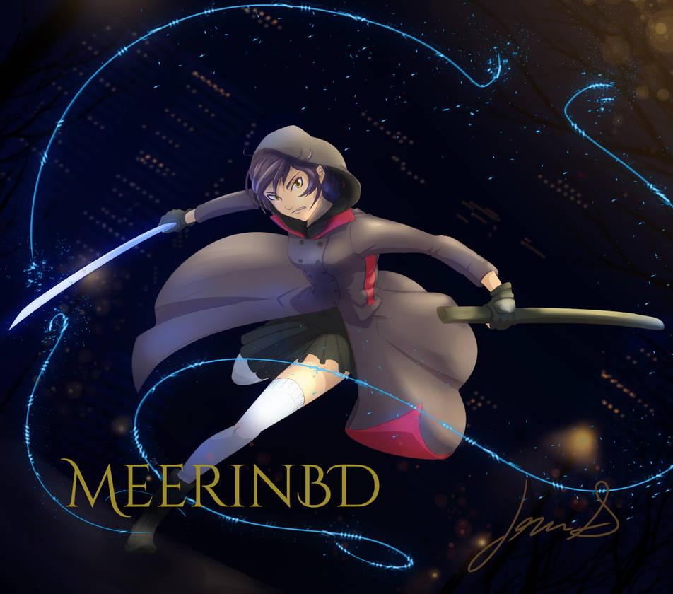Miyuki in Action by Meerin