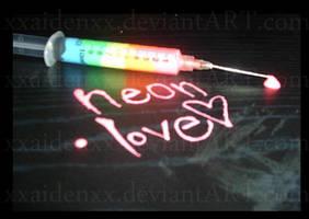 Neon Love by XXaidenXX