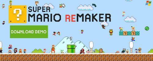 Super Mario ReMaker Demo for PC (No Fake, FanGame) by facundogomez