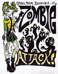 Zombie Attack by nifties