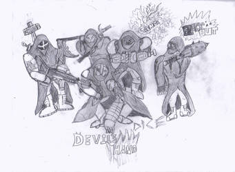 Devils Hand by cboxninja1994