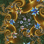 Flowers with Special Needs by FireLilyFractals