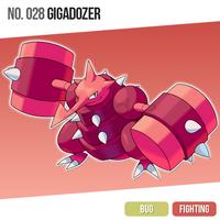 028 Gigadozer by zerudez