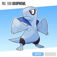 105 Ogoprowl by zerudez