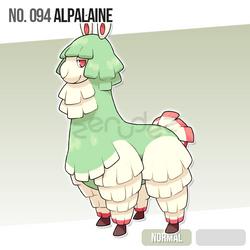 094 Alpalaine by zerudez