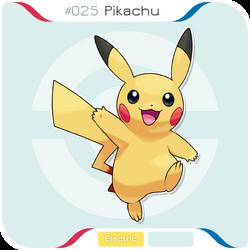 025 Pikachu by zerudez