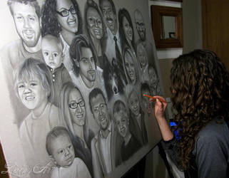 Shyla's super family Portrait - In progress by secrets-of-the-pen