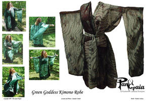 Green Goddess Kimono by HasturCTS