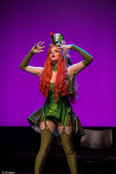 Poison Ivy Steampunk by RikkuHydroxiaCosplay