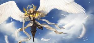 Archangel Uriel by Aragah