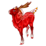 Mystical Red Deer by KcW-Estate