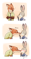 Nick/Judy by Ganym0