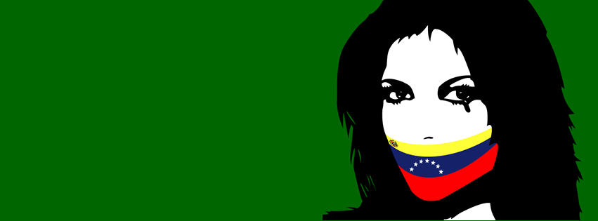 miss venezuela facebook cover by infopablo00