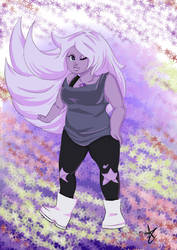 Amethyst- Crystal Gems by AntheaVongola