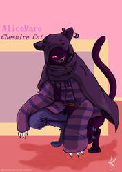 AliceMare- Cheshire Cat by AntheaVongola