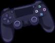 Profile Badge: Game Controller: Playstation 4 by Ashleykat