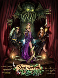 Cover for Shakespeare v Lovecraft by drobrien