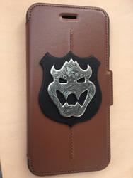 Bowser phone case by TrueFraxxx