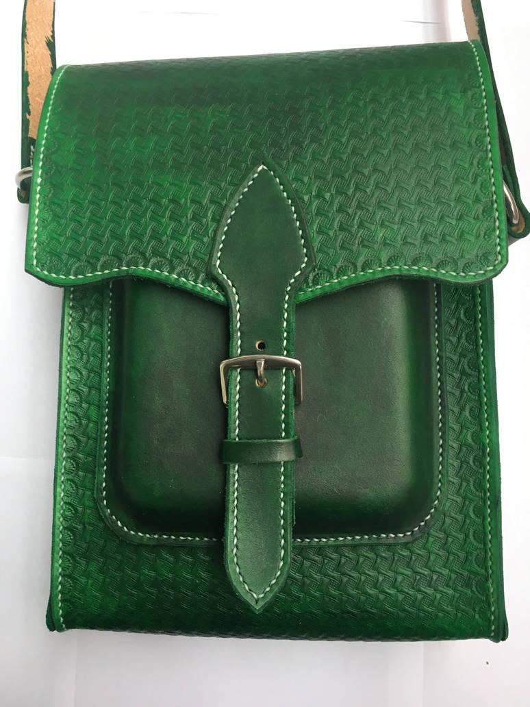 Handbag leather (stamped) by TrueFraxxx