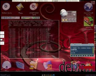 Dark KDE Comix by rhorn