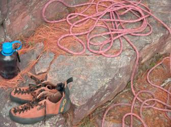 Climbing Equipment by rhorn