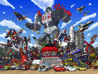 Micromasters Autobot All Stars by hansime