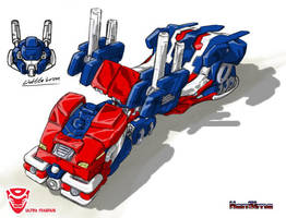 LittleIron's Ultra Magnus 2 by hansime