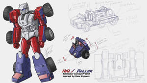 Battlestar Convoy Project: HiQ / Roller by hansime