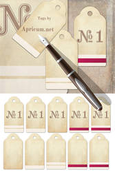 Tags for Web Design and Scrapbooking by apricum