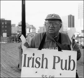 Come to the Irish Pub by jjbertramiv