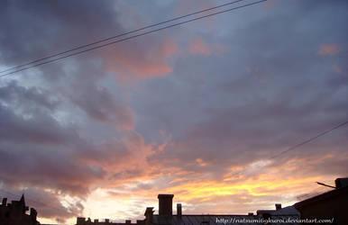 Clouds at sunset 2 by NatsuMi69Kuroi