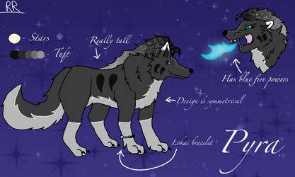 Pyra Reference Sheet 2018 by WolfHeart225