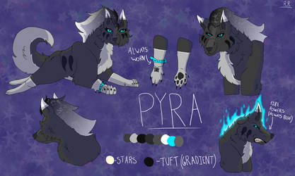 Pyra Reference Sheet 2019 by WolfHeart225