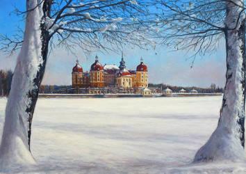 The Moritzburg Castle (Germany) by joseph-art