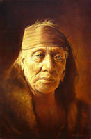 Old Indian by joseph-art