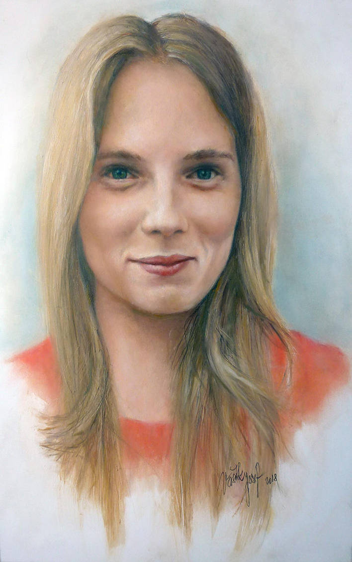 Portrait of Simonida by joseph-art