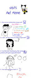 Nyu's Art Meme by Halston by Froggy-Spaztastic
