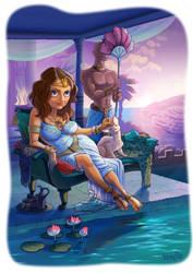 Egyptian tale by nerresta