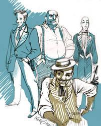 3 gangsters by nerresta