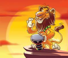 Djembe lion by nerresta