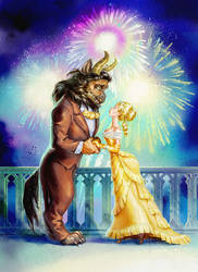 Beauty and the Beast by nerresta