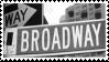 Broadway Stamp by Creepypastafan100