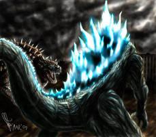 Godzilla Raids Again by Tankor89