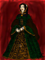 Mary I of England by aniek90