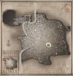 Map of Roma (Assassin's Creed: Brotherhood) by Hynotama
