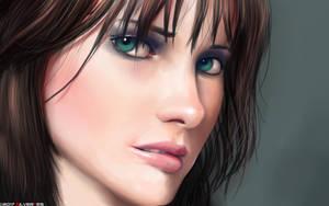 Green Eyes by SilverTES