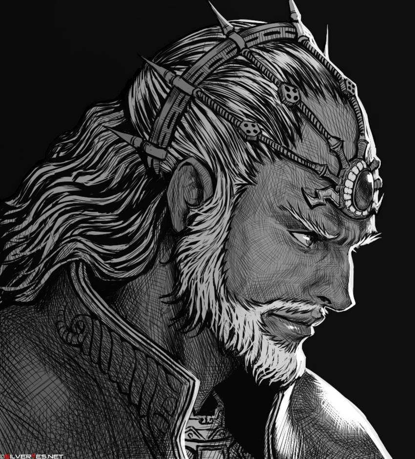 King Ganondorf Badass by SilverTES