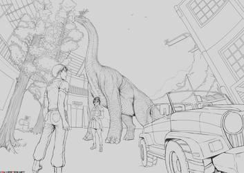 Brachiosaurus Wip by SilverTES